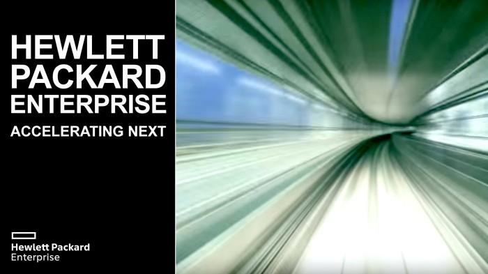 HPE ACCELERATING NEXT