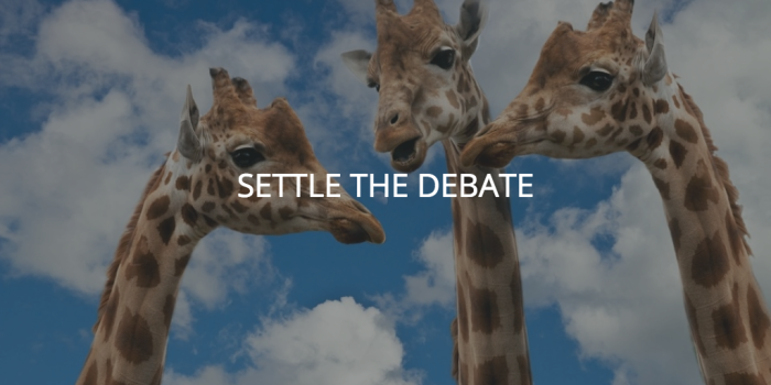 settle-the-debate